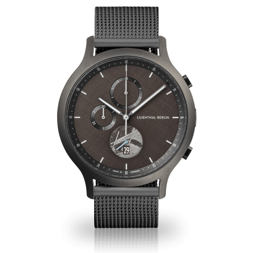 Lilienthal Berlin C01-LE-METEORITE-B23 Chronograph Limited Edition 42,5mm Meteorite mesh