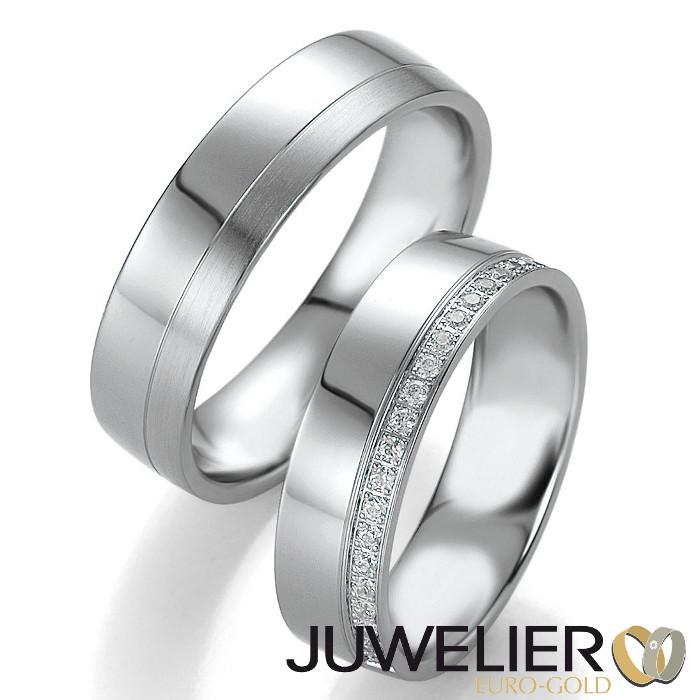Juwelier Euro Gold Berlin 1 Paar Eheringe Trauringe In 950 Platin