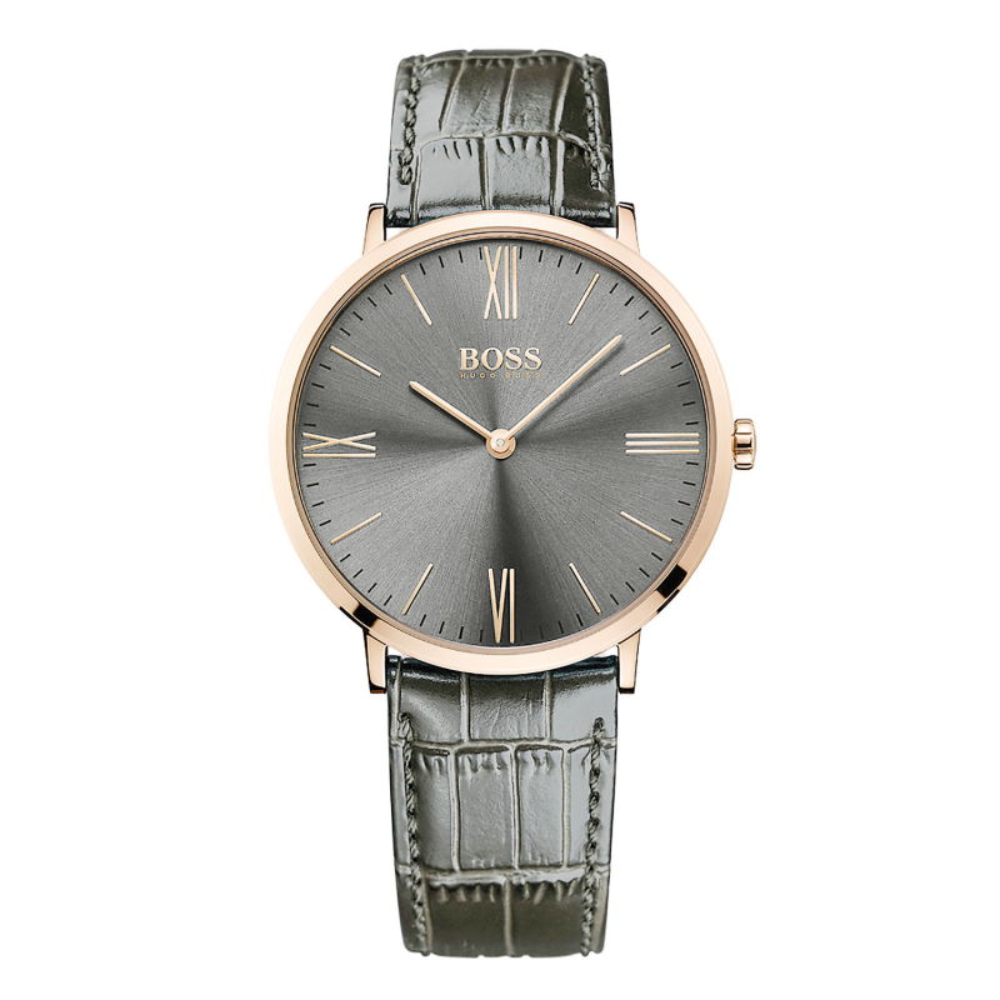 cff1dc652 Details about Hugo Boss Black Classic Men's Watch 1513372 Jackson, Very Flat